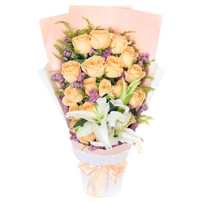 【结婚送花】最好的朋友结婚可以送吗?朋友结婚送什么鲜花?