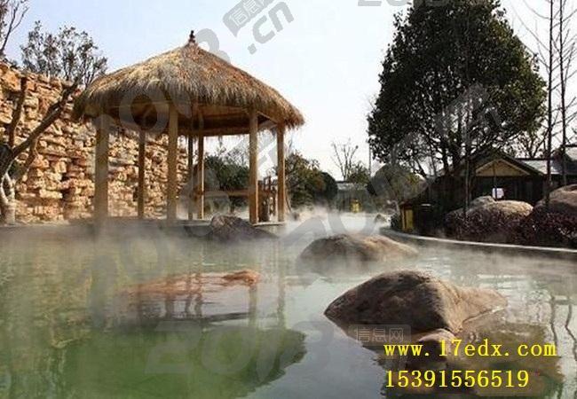 冬天武汉周边两日游去英山桃花冲景区滑雪泡温泉怎么样
