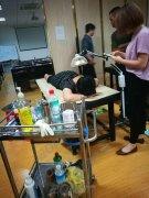 深入学习中医针灸需要什么教材版本广东梅州针推现场教学现场考核
