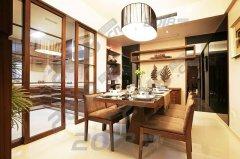 天津玻璃隔断时尚厨房方案分享