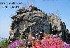 春天武汉周边游去英山篓子石景区踏青赏花怎么样