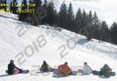 武汉周边寒假游玩去英山南武当旅游景区滑雪口碑怎么样
