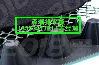 现货供应%天津车库排水板amp;屋顶绿化隔根板