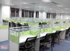 唐山办公桌一对一培训桌课桌椅电话销售桌工位