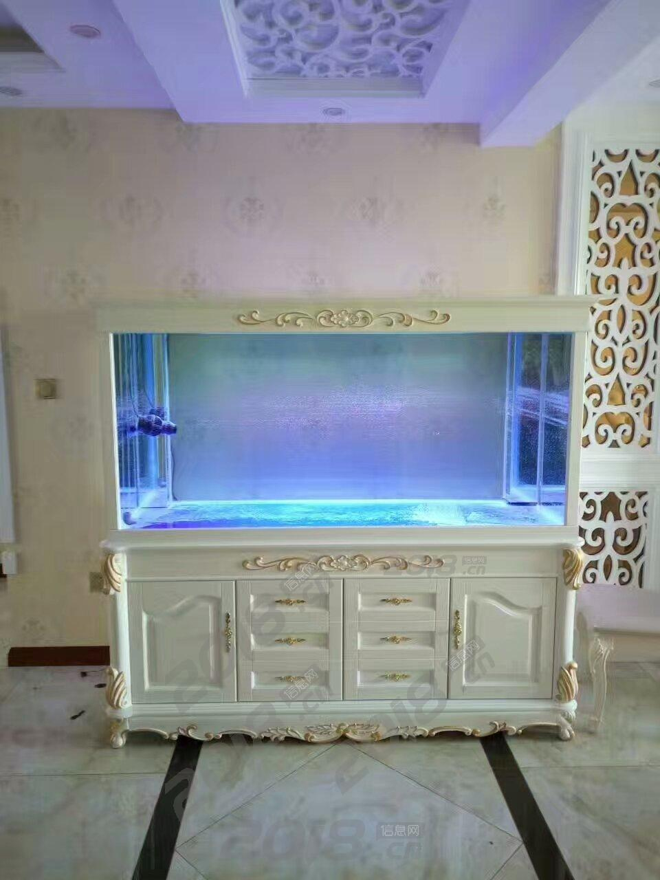 欧式鱼缸 橡木鱼缸 水族箱厂家