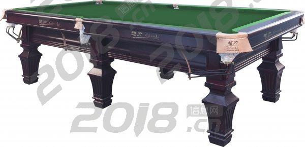 杭州超力台球桌英式美式花式九球台球桌家用雕刻台球桌多功能台球