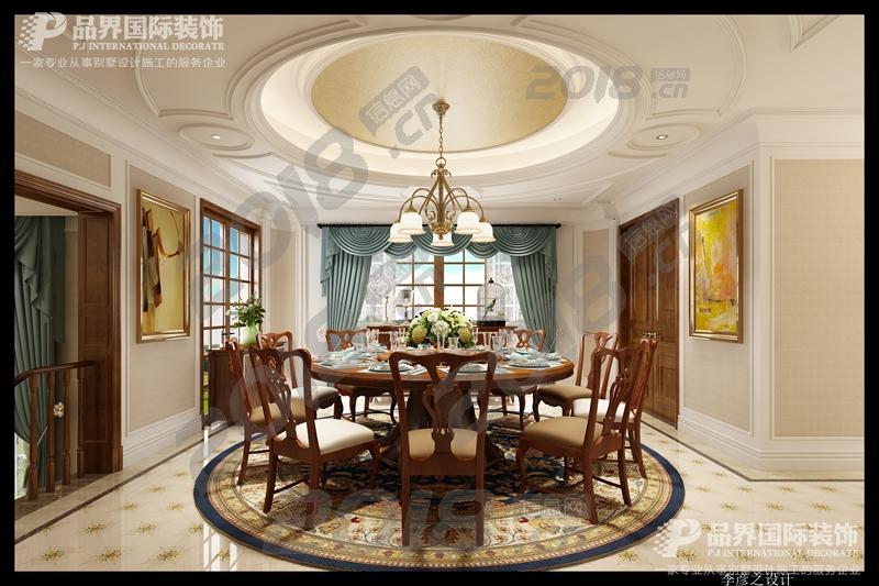 重庆凡尔赛别墅装修设计-欧式风格