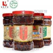 百年卢家桂圆核桃油辣椒210g清真食品