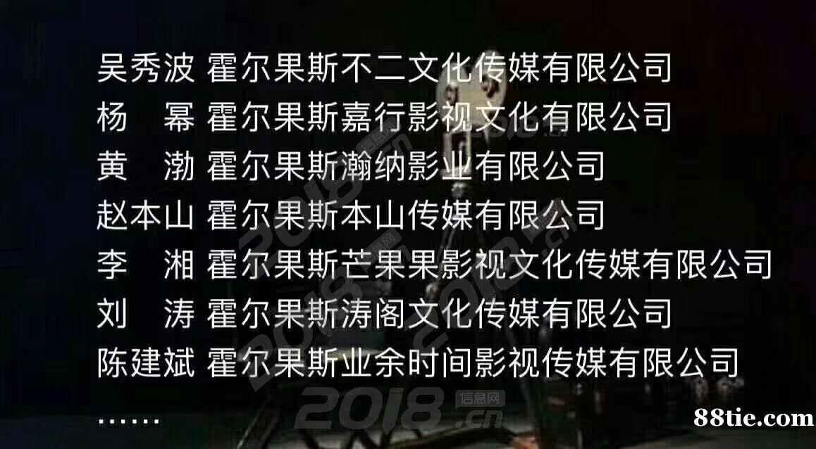 """吴秀波、赵本山等影视明星扎堆""""税收洼地"""