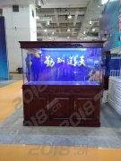 欧式鱼缸 橡木鱼缸定做 鑫德龙鱼缸厂家