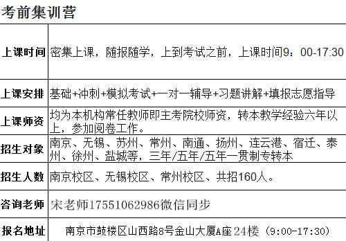 励志南京五年制专转本考试,主宰平凡是为了不凡
