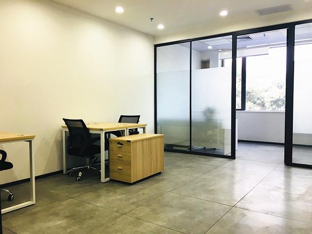 宝安西乡小面积联合办公室卡位出租,提供红本租赁凭证地址托管