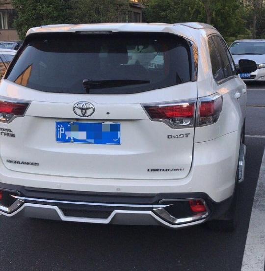 上海租丰田汉兰达SUV,承接自驾租车,各类商务活动租车服务