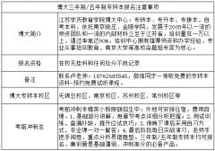南京2019年五年制专转本(五年一贯制专转本)寒假班已经提上
