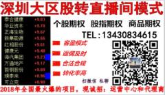 深圳场外个股期权大区直播间代理招商加盟