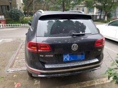 上海租大众途锐SUV自驾一天租金要多少钱